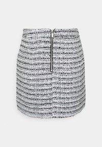 Miss Selfridge - BOUCLE SKIRT - Mini skirt - multi - 1