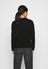 Selected Femme - SLFSIA CARDIGAN - Cardigan - black - 2