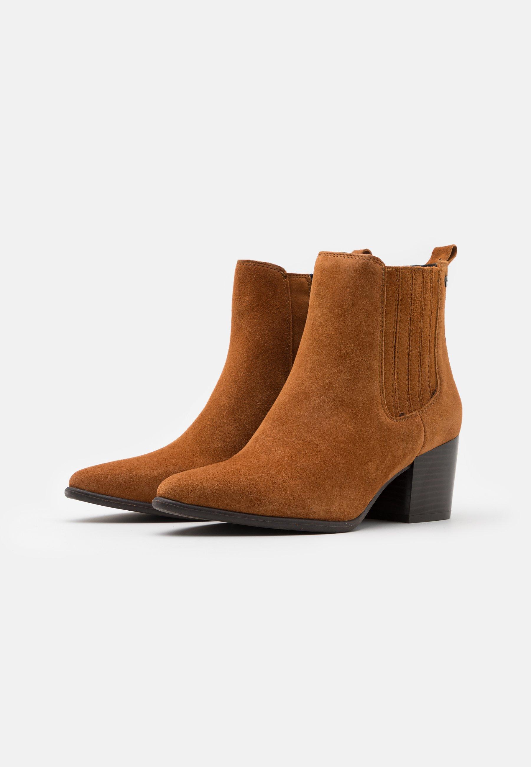 Esprit CAPLE - Boots à talons - toffee - Bottines Femme Limité