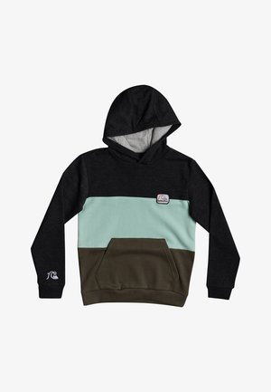 TROPICAL BLOCK  - Hoodie - dark grey heather
