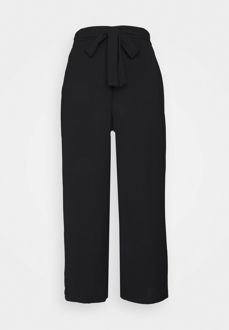 Pieces - PCKELLIE CULOTTE  - Trousers - black