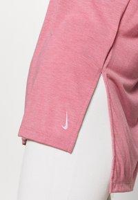 Nike Performance - YOGA LAYER - Camiseta básica - desert berry/arctic pink - 4