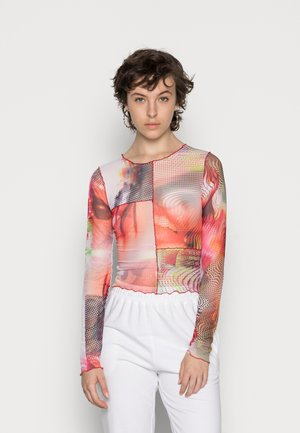CUT & SEW MIXED PRINTS - Long sleeved top - multi