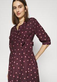 Closet - CLOSET GATHERED  - Day dress - brown - 5