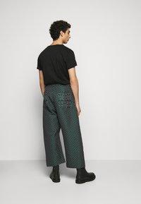 Henrik Vibskov - KEY PANTSMIX DRAIN MIXER - Trousers - dark green - 2