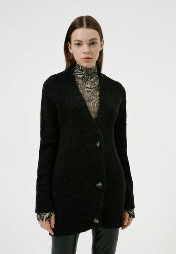 SAMIRENDA - Cardigan - black