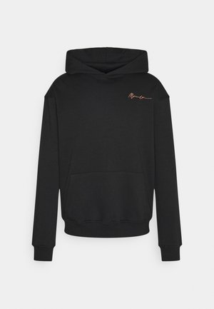 ESSENTIAL REGULAR HOODIE UNISEX - Sweatshirt - black