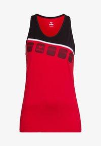 Erima - Top - red/black/white - 4