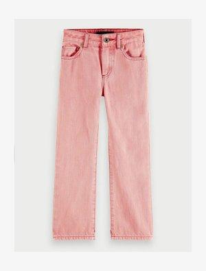 Straight leg jeans - magic pink