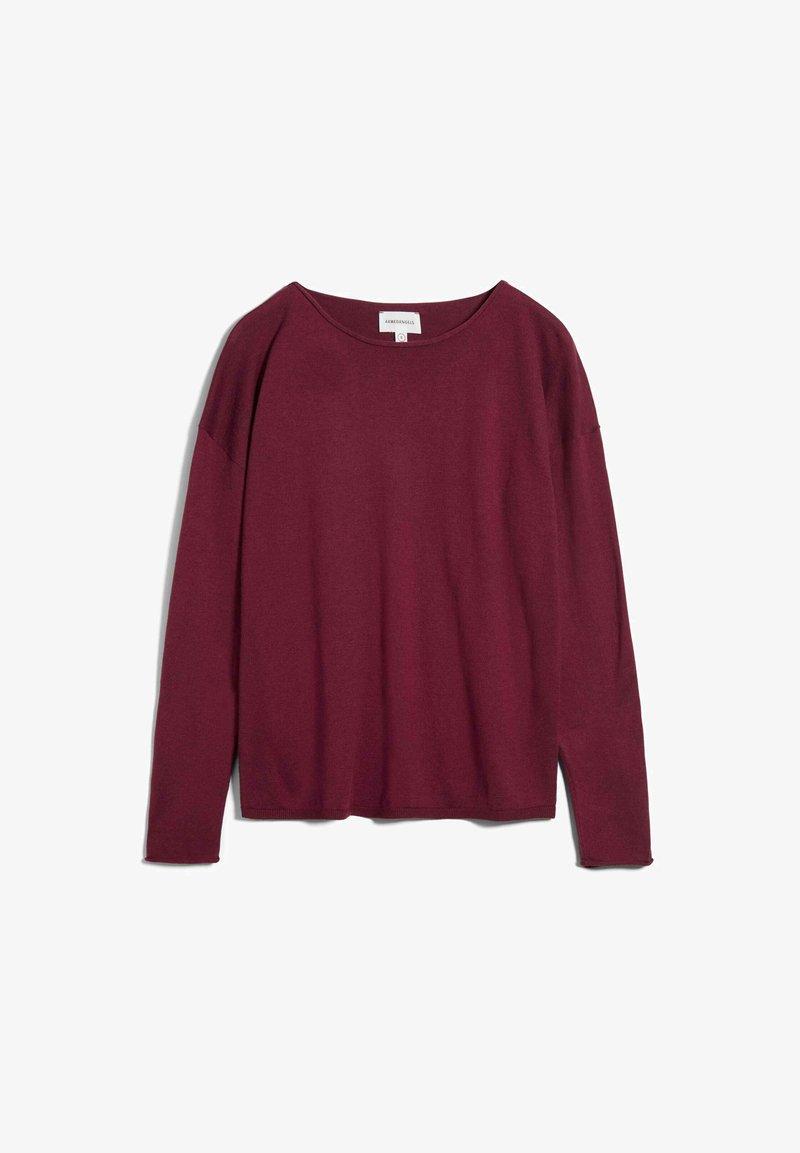 ARMEDANGELS - LADAA - Sweatshirt - ruby red