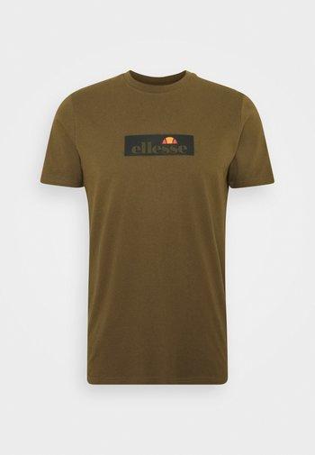 OMBRONO - T-shirt imprimé - khaki