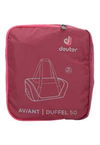 Deuter - AVIANT DUFFEL 50 - Sports bag - red - 6