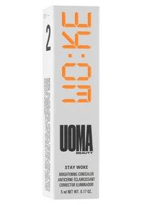 UOMA - STAY WOKE CONCEALER - Concealer - t1 brown sugar - 2
