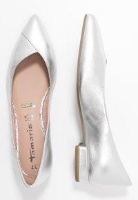 Tamaris - Ballet pumps - silver - 3