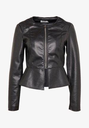 ONLJOSIE JACKET - Faux leather jacket - black