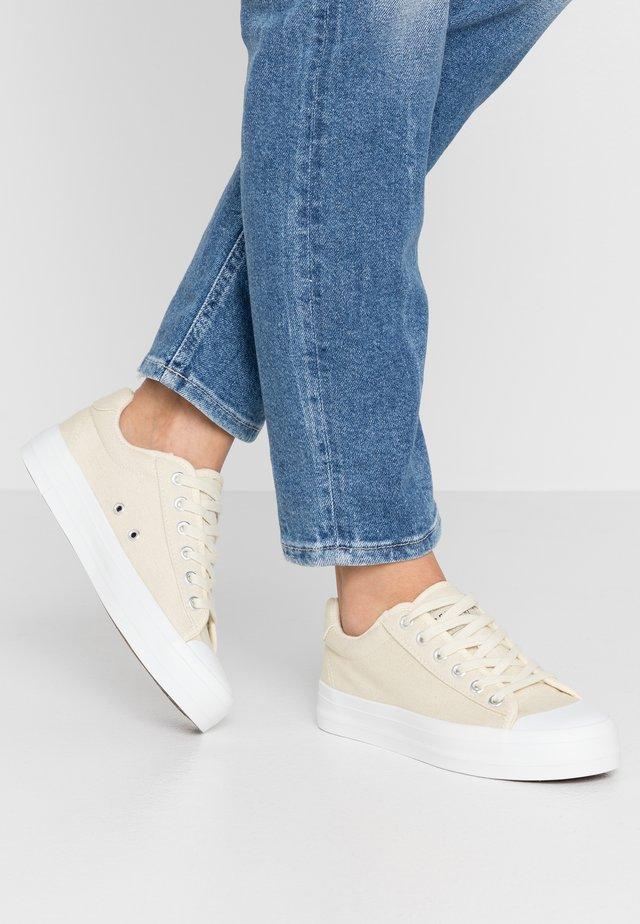 SLFSIMONE TRAINER  - Sneakers laag - birch