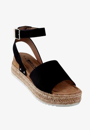 PEDDA - Platform sandals - schwarz