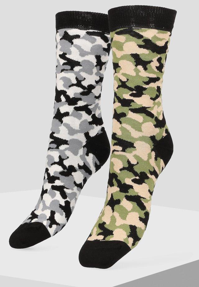 2 PACK - Socks - grey