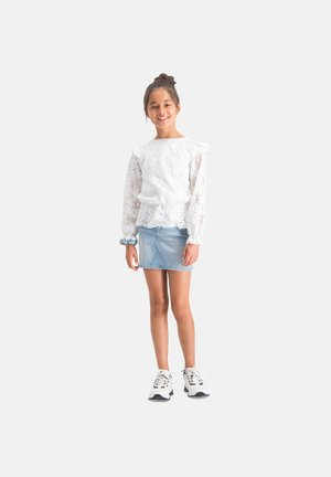 Mini skirt - light indigo