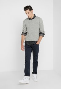 7 for all mankind - SLIMMY LUXE PERFORMANCE  - Pantaloni - dark blue - 1
