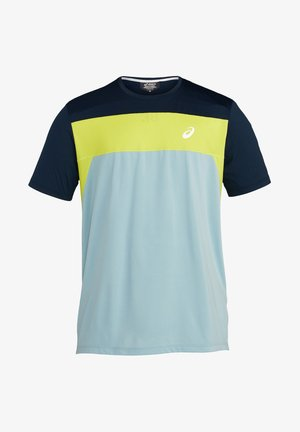 Camiseta estampada - smoke blue/french blue