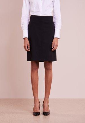 ROVA - Pouzdrová sukně - black