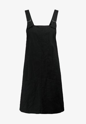 RUE DRESS - Robe en jean - black