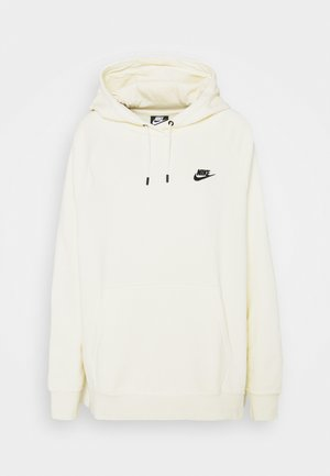 HOODIE PLUS - Sweat à capuche - coconut milk/black