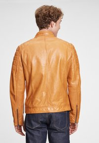 Gipsy - DERRY - Leather jacket - yellow - 2