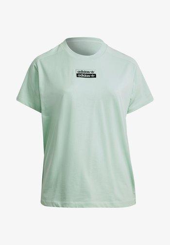 T-shirts med print - frozen green