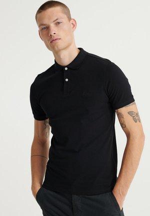 CLASSIC MICRO LW - Polo shirt - black