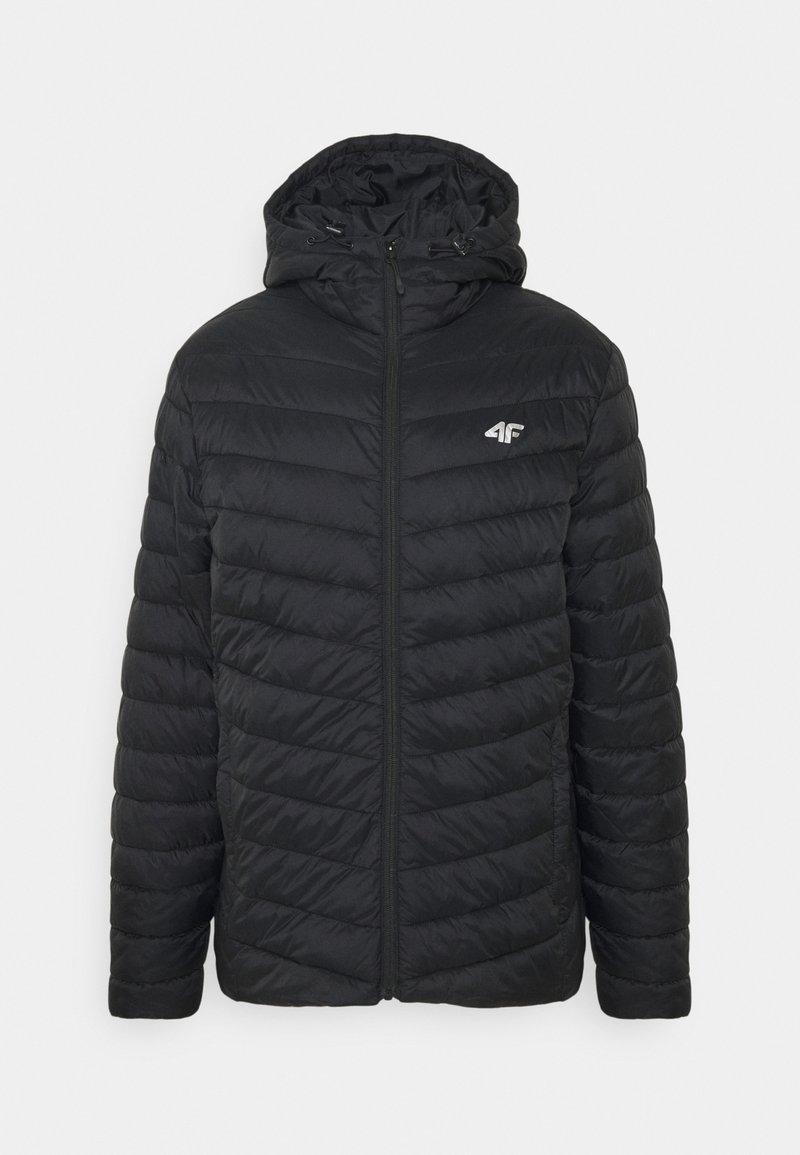4F - Men's insulated jacket - Training jacket - black