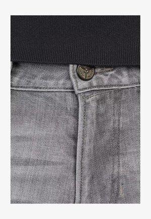 NIGHTFLIGHT - Denim shorts - grey denim