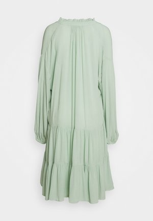 DRESS INES - Day dress - slit green