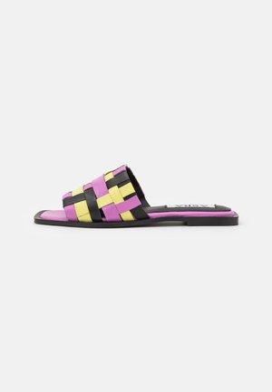 SYRIL - Mules - purple/multicolor