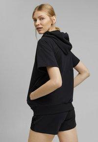 Esprit Sports - Zip-up sweatshirt - black - 4