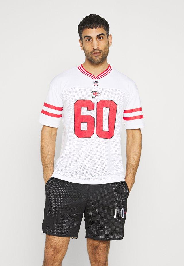 NFL KANSAS CHIEFS - Klubbkläder - white