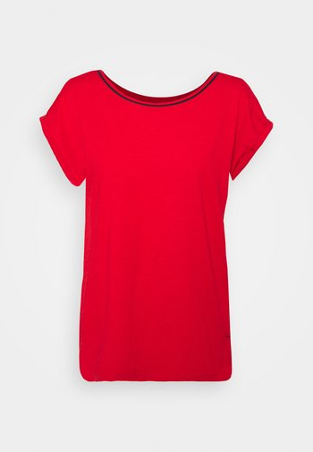 TEE - T-shirts - red