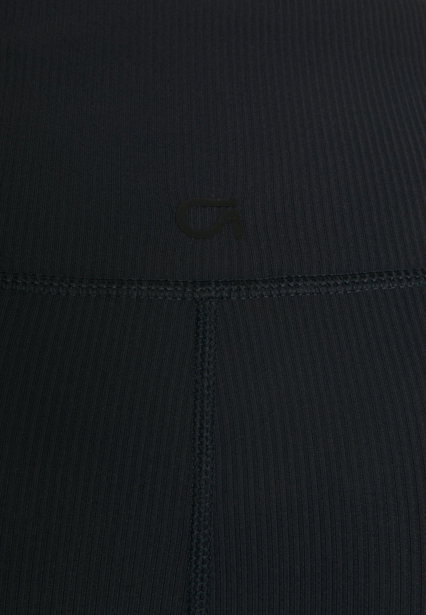 GAP BLACKOUT ANKLE PANT - Leggings - true black 2DxT8