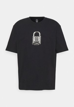 CODECRACKER - Print T-shirt - black