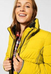 Cecil - MIT STEPPUNG - Winter jacket - gelb - 1