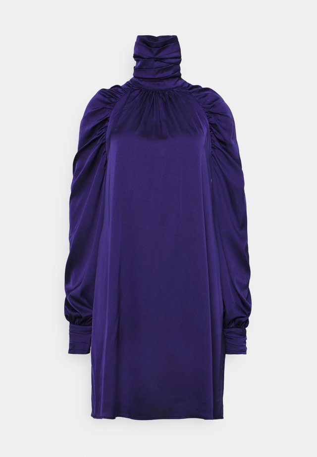 LADIES DRESS  - Korte jurk - purple sateen