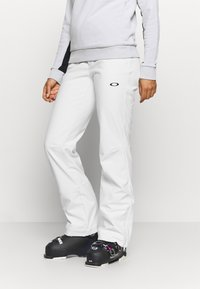 Oakley - WOMENS PANT - Ski- & snowboardbukser - white - 0