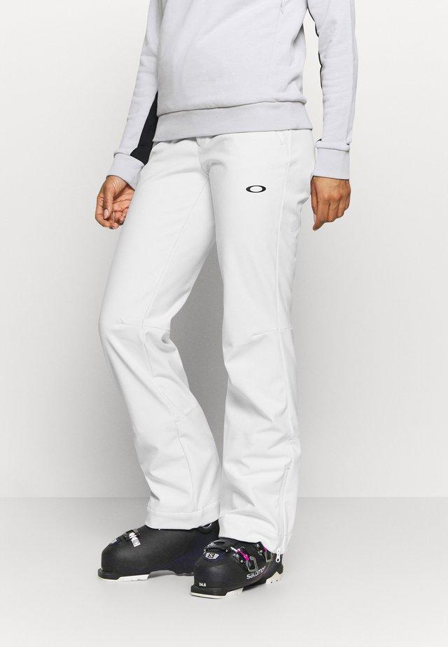 WOMENS PANT - Pantaloni da neve - white