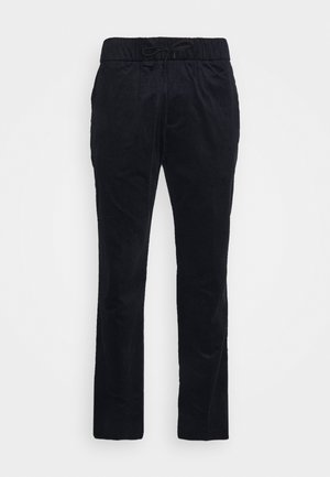 FAVE SOFT PANT WITH ELASTICATED WAISTBAND - Tygbyxor - night