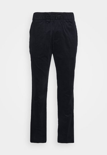 FAVE SOFT PANT WITH ELASTICATED WAISTBAND - Trousers - night