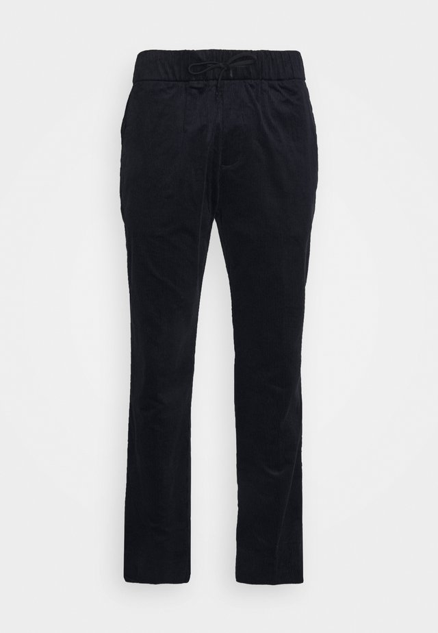 FAVE SOFT PANT WITH ELASTICATED WAISTBAND - Pantalones - night