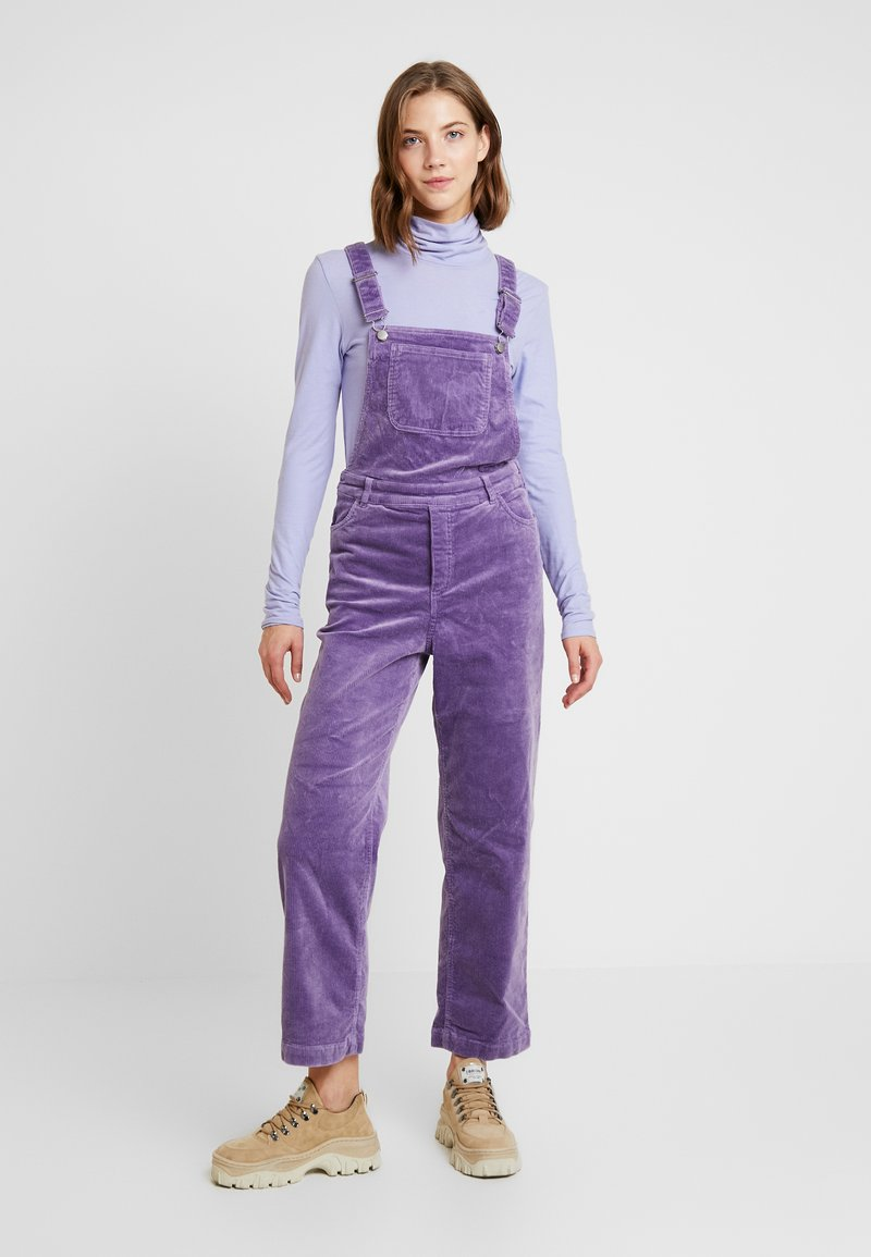 Monki - NOREA DUNGAREE - Dungarees - lilac