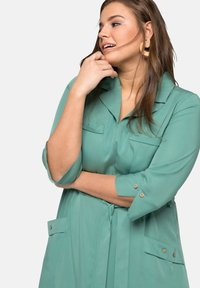 Sheego - Maxi dress - see green - 3