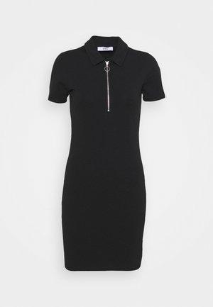 ONLEMMA DRESS - Jersey dress - black